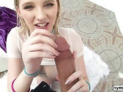 NYMPHO Busty blonde teen Melody Marks filled with cum uploaded 10 months ago by yopopu