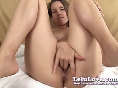 Cum closer into my super wet oily pussy fingering JOI - Lelu Love added 9 months ago by yopopu