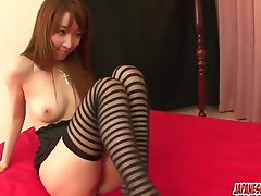 Kou Minefuji goes wild on cock in scenes of threesome - More at Japanesemamas.com uploaded 1 year ago by yopopu