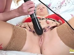 OldNannY Mature Lesbians Using Toys for Pleasure uploaded 8 months ago by yopopu